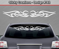 "Design #165 - 36""x4.25"" + Windshield Window Tribal Accent Vinyl Sticker Decal Graphic Banner"