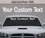 Arial Bold Font #1010 - Custom Personalized Your Text Letters Preview