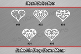 Sticky Creations - Heart Selection