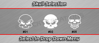 Sticky Creations - Skull Selection