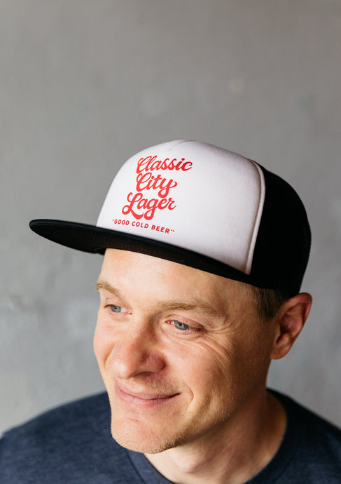 Classic City Lager Foam Snapback Trucker Hat