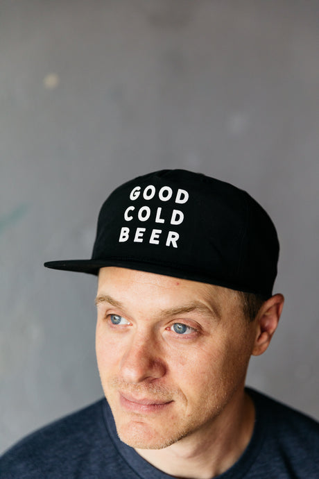 Good Cold Beer Grandpa Snapback Hat
