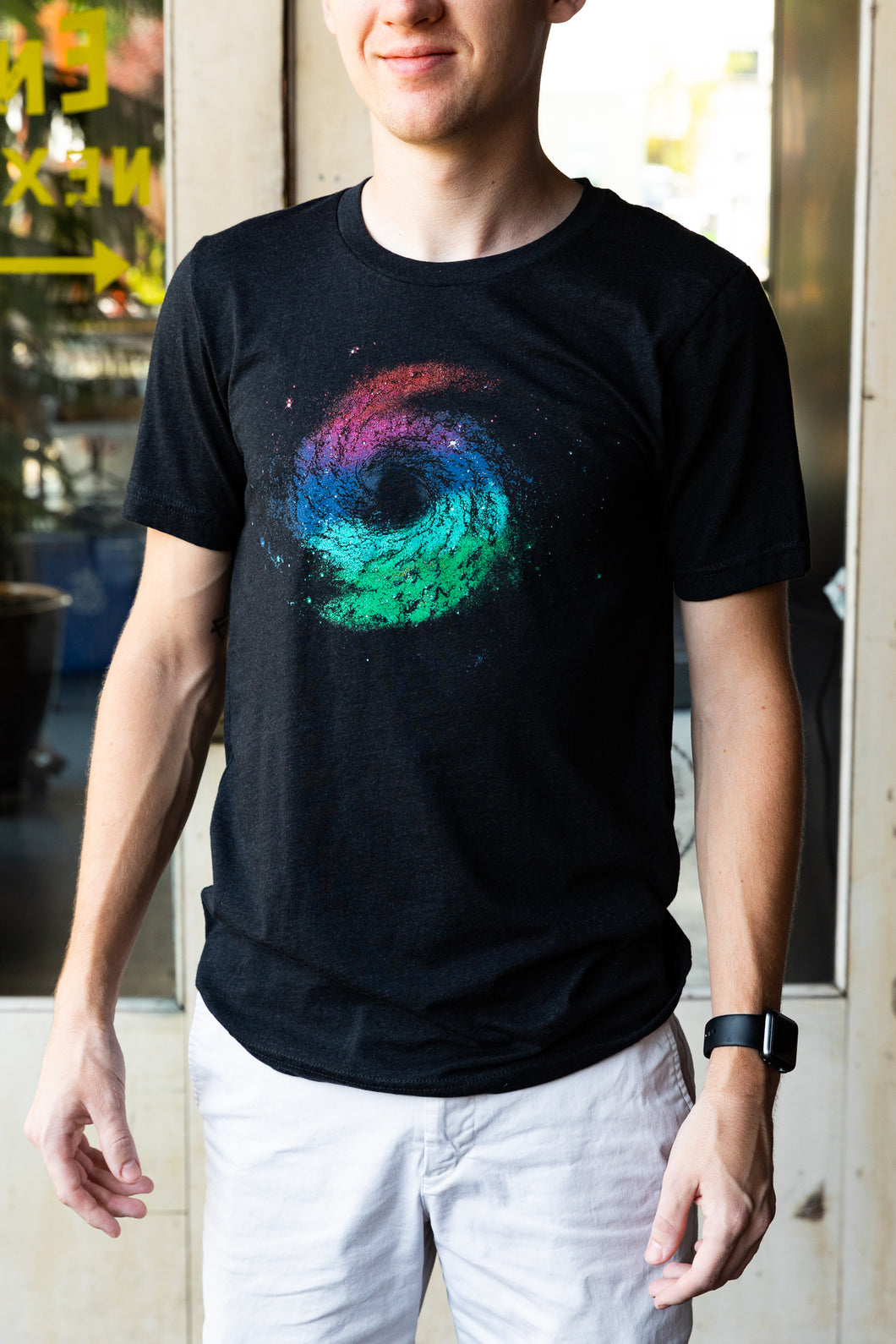 Galactic Space Circus Triblend Tee