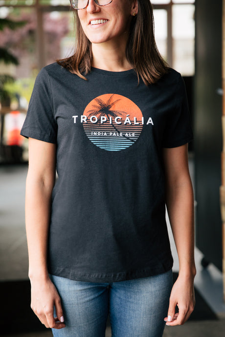 Tropicália Ladies' Relaxed Jersey Triblend Tee