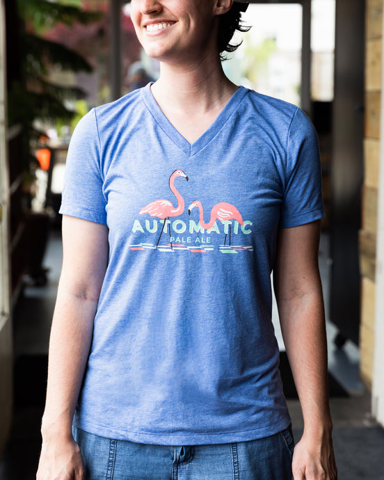 Automatic Ladies' Triblend Tee
