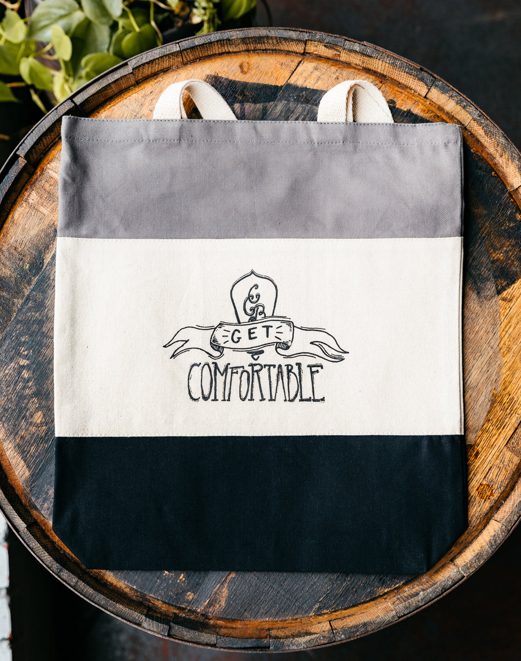 Get Comfortable Tote Bag