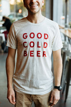 Good Cold Beer Oatmeal Triblend Tee