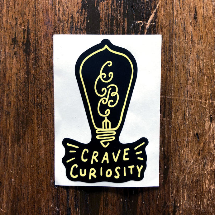 Vinyl Sticker - Lightbulb Logo
