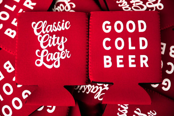 Koozie - Classic City Lager/Good Cold Beer