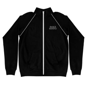 Deez Geeks Piped Fleece Jacket