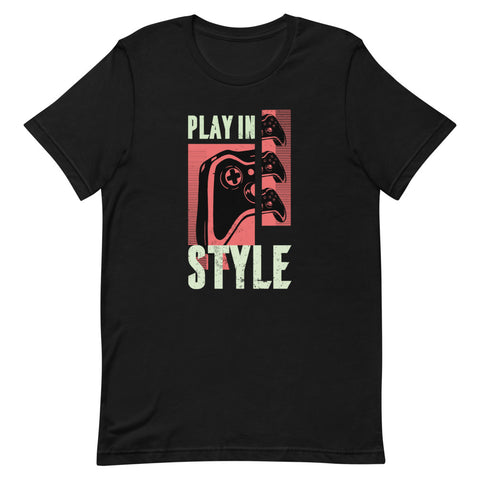 """Play In Style"" Short-Sleeve Unisex T-Shirt"