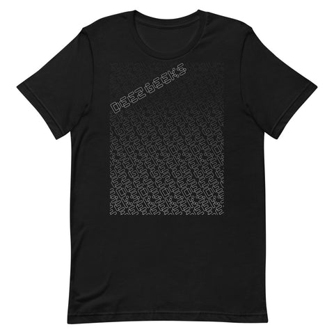 """Deez Geeks Pattern"" Short-Sleeve Unisex T-Shirt"