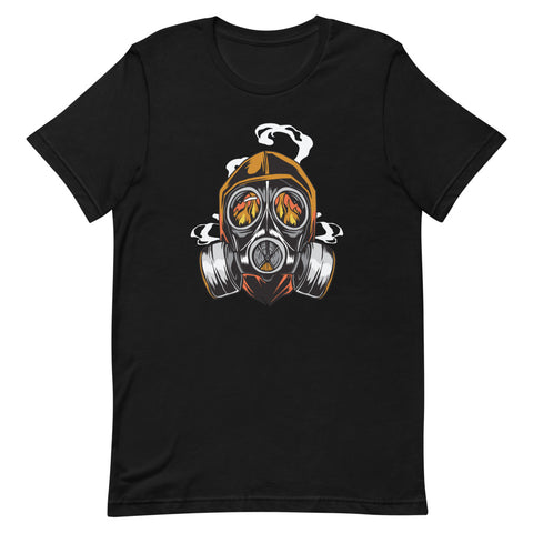 """Gas Mask"" Short-Sleeve Unisex T-Shirt"