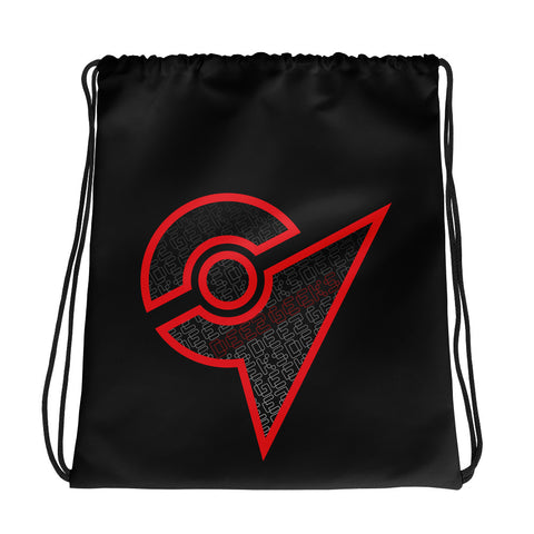 POGO Gym Drawstring bag (RED)