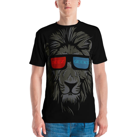 """Anaglyph Lion"" Men's T-shirt"