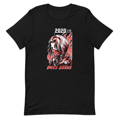 """2020 Justice"" Short-Sleeve Unisex T-Shirt"