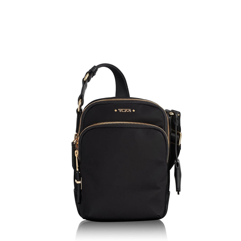 TUMI Voyageur Ruma Women's Crossbody in Black-Gold - Forero's Vancouver Richmond