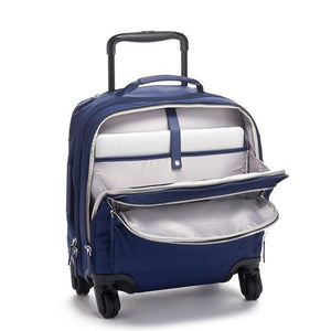 TUMI Voyageur Osona Compact Carry-On in Ultramarine open view
