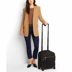 TUMI Voyageur Osona Compact Carry-On in Black-Gold model
