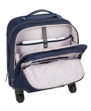 TUMI Voyageur Osona Compact Carry-On in Navy front pockets