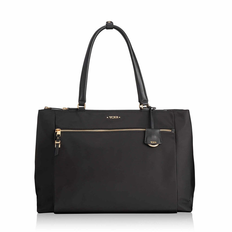 Tumi 110007 Voyageur Sheryl Business Tote in colour black - front