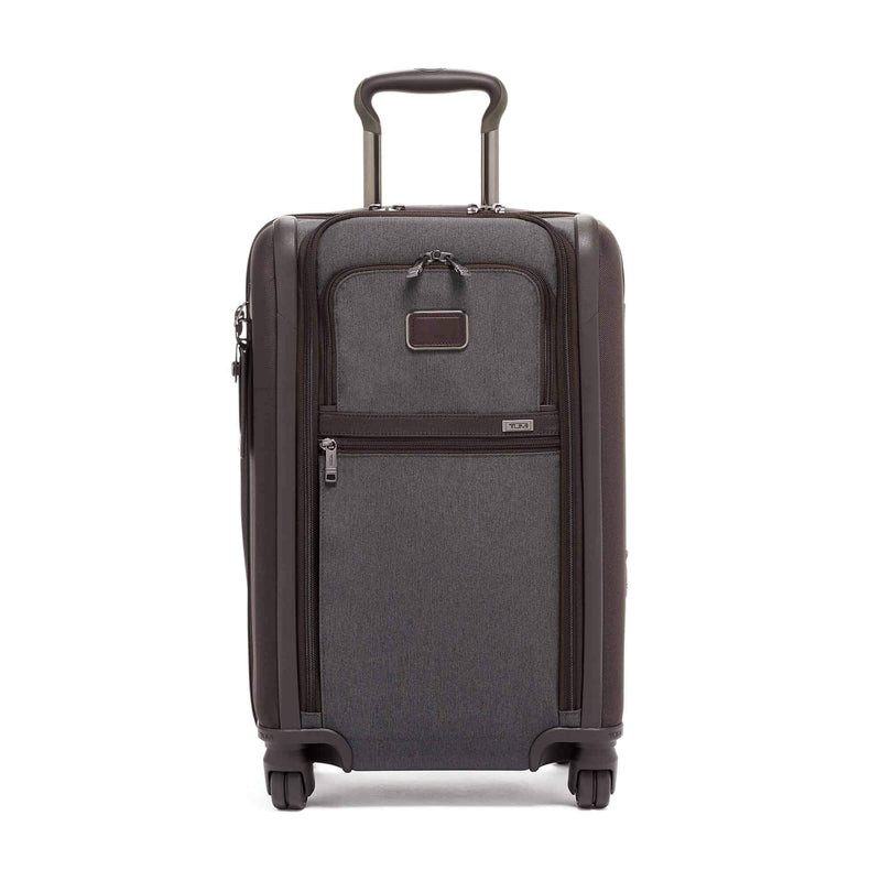 Tumi 117171 Alpha 3 International Dual Access Carry-On anthracite - front