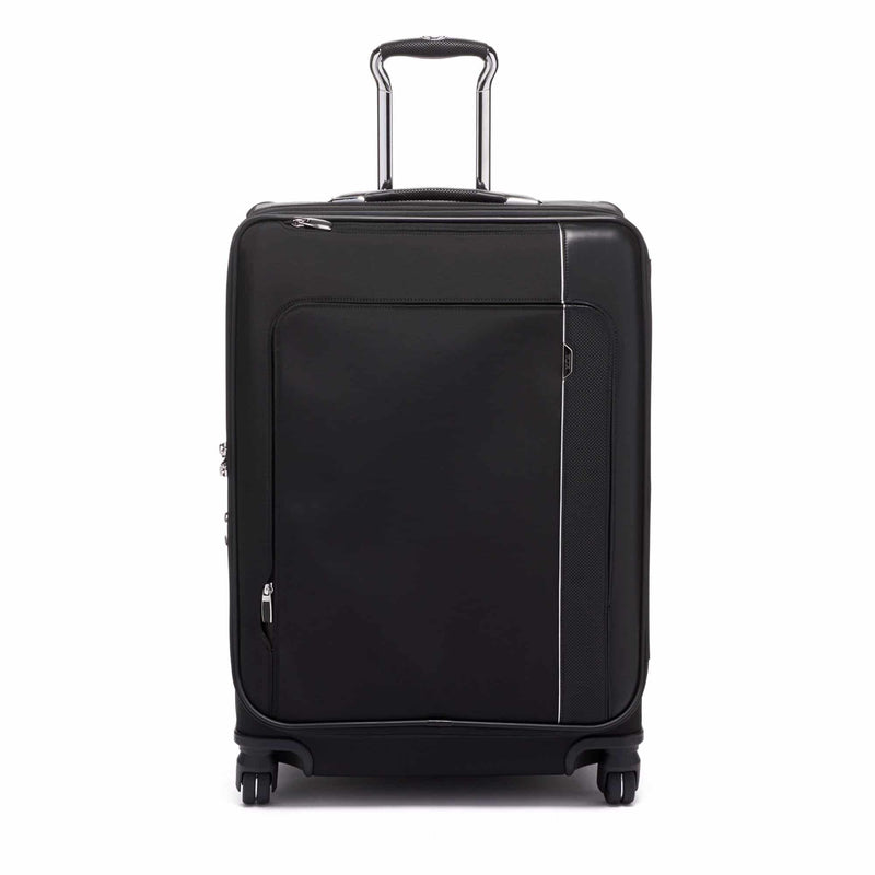 TUMI Arrivé Short Trip Dual Access 4-Wheeled Packing Case in colour Black - Forero's Bags and Luggage Vancouver Richmond