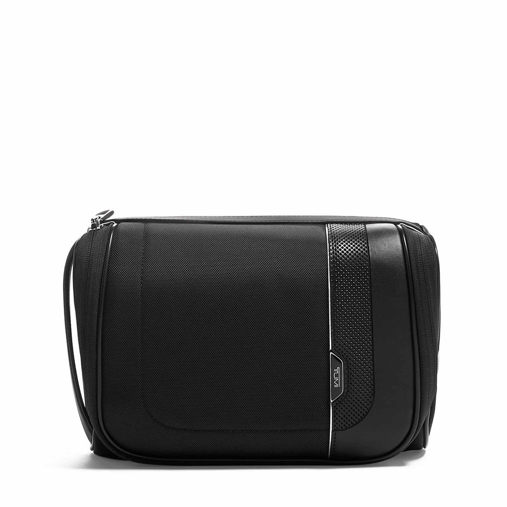 TUMI Arrivé Richards Travel Kit in colour Black - Forero's Bags and Luggage Vancouver Richmond