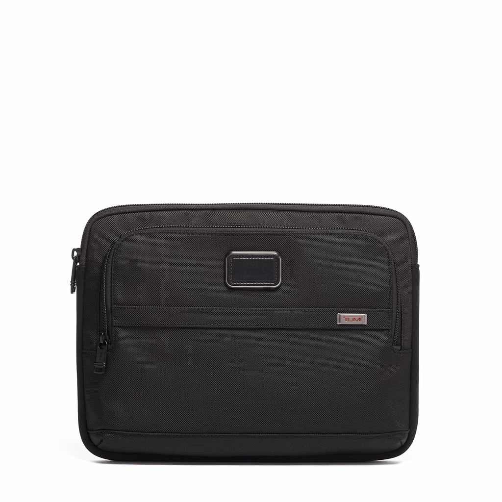 Tumi 117251 Alpha 3 Medium Laptop Cover black - front