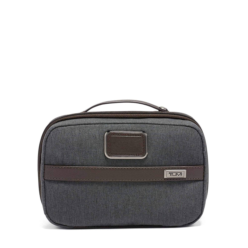 Tumi 117257 Alpha 3 Split Travel Kit in colour anthracite
