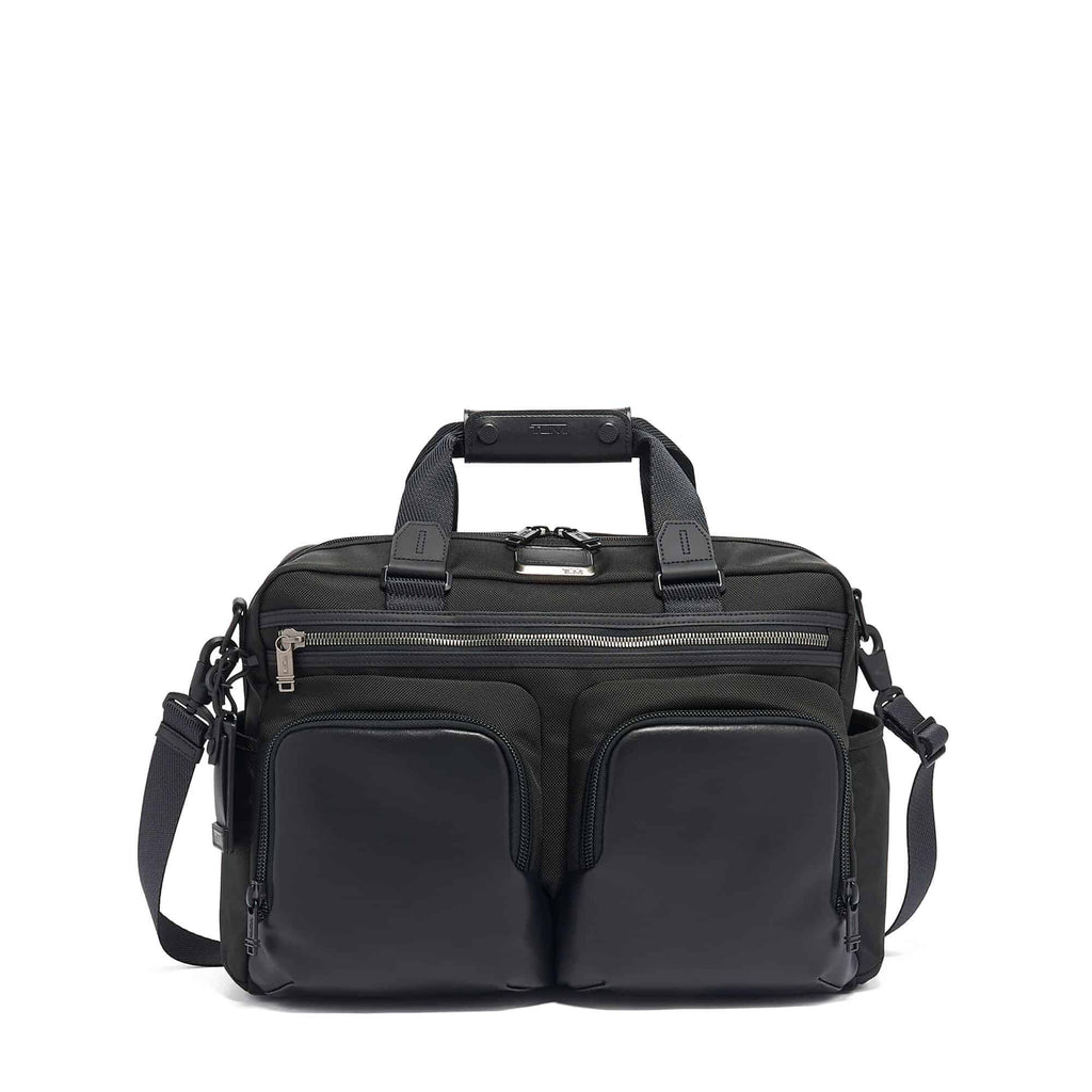 TUMI Alpha Bravo Hunter Satchel - Forero's Bags and Luggage Vancouver Richmond