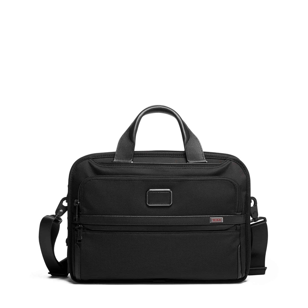 Tumi 117308 Alpha 3 Triple Compartment Brief black - front