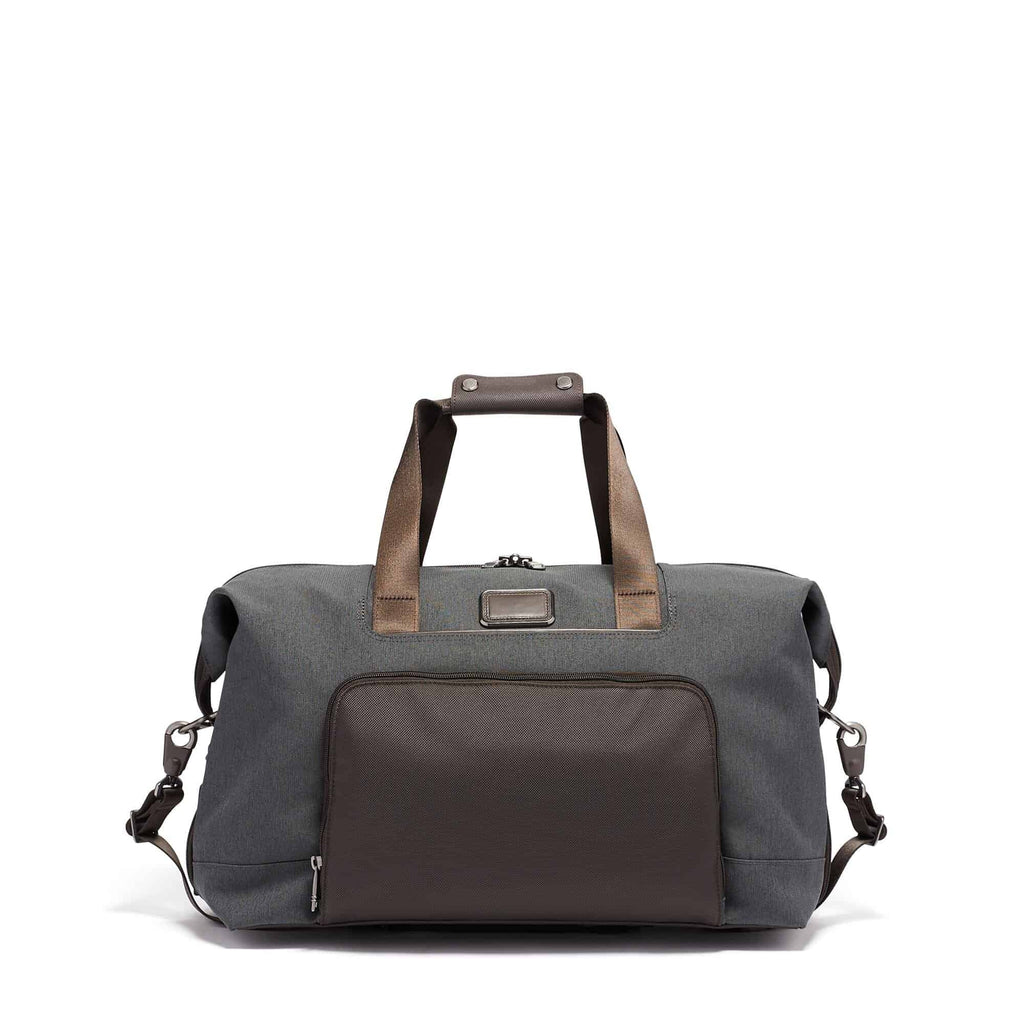 Tumi 117317 Alpha 3 Double Expansion Travel Satchel anthracite - front