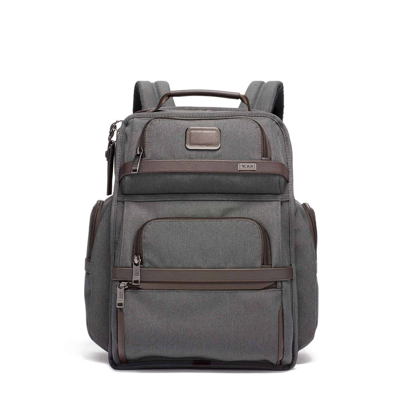 Tumi 117338 Alpha 3 Brief Pack anthracite - front