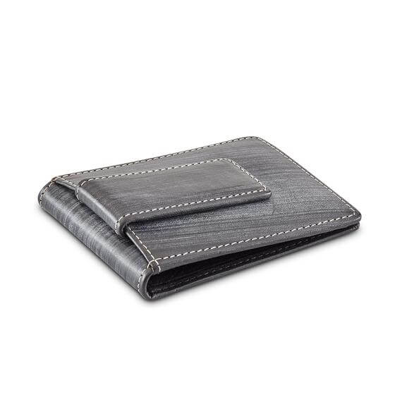 Osgoode Marley RFID Magnetic Money Clip Wallet in Black/Grey - Forero's Vancouver Richmond