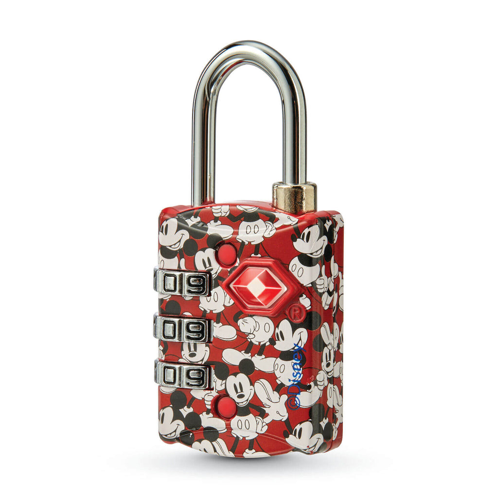 American Tourister x Disney 3 Dial TSA Combination Lock in colour Mickey