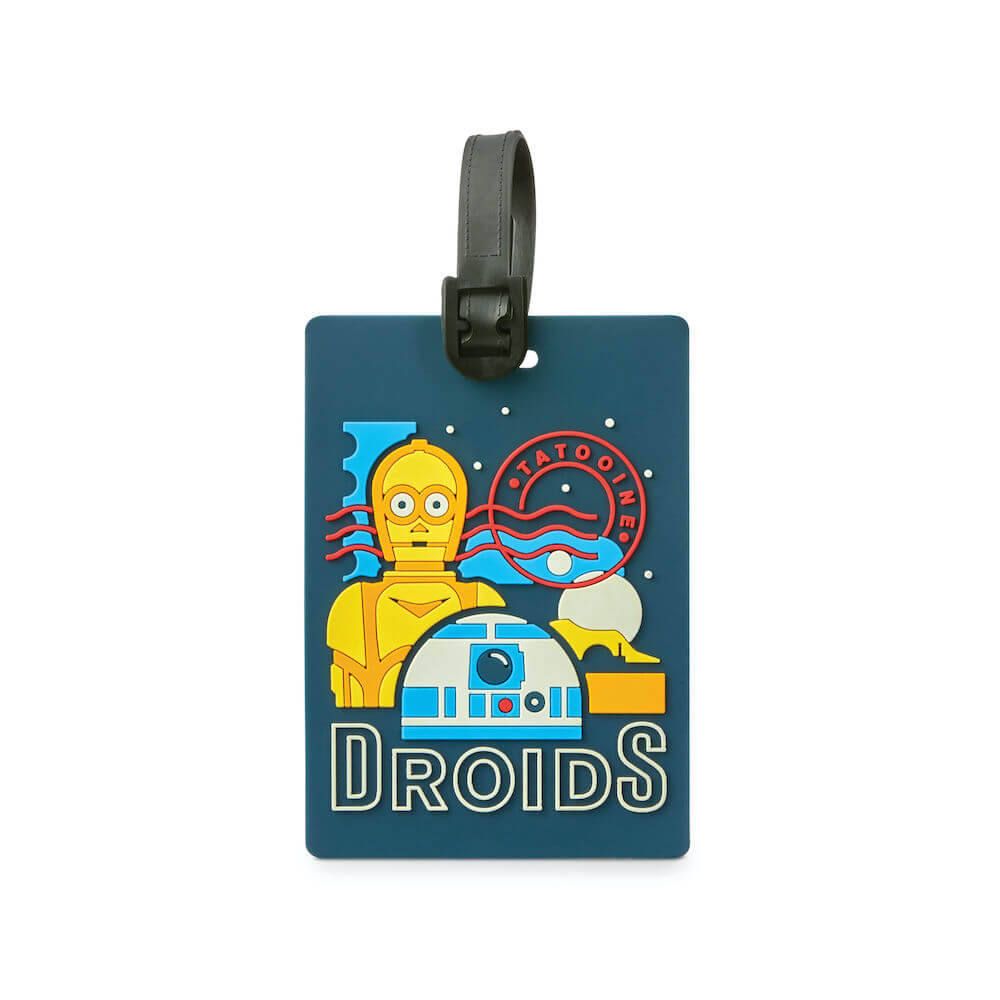 American Tourister x Disney Star Wars Luggage ID Tag in colour Droids