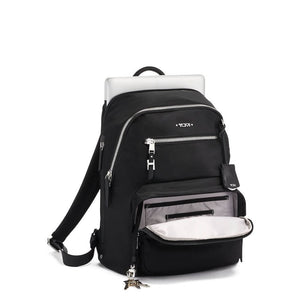 TUMI Voyageur Women's Hartford Backpack in colour Black-Silver - Forero's Vancouver Richmond