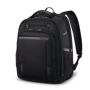 "Samsonite Pro Standard Backpack Expandable 15.6"" in Black front view"