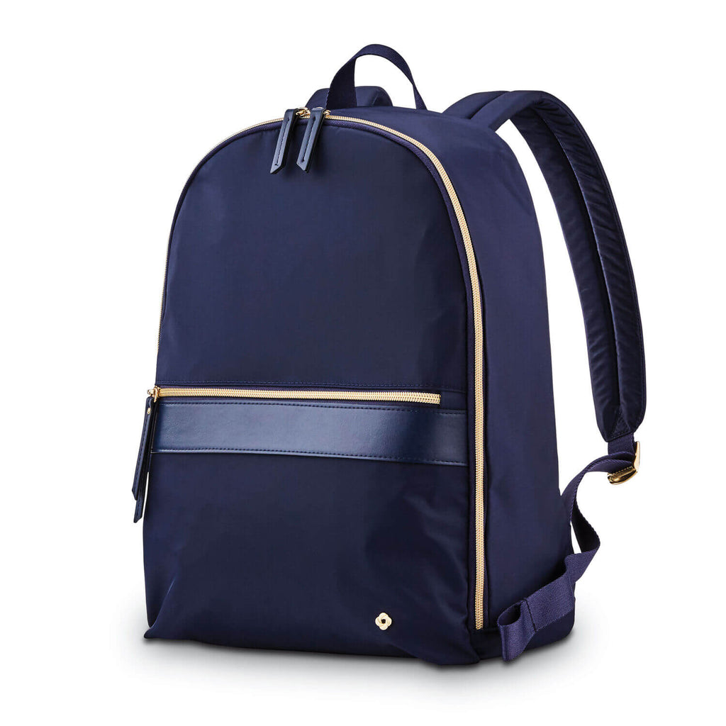 "Samsonite Mobile Solution Essential Backpack 14.1"" in Navy Blue front view"