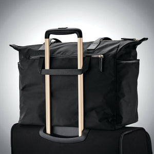 "Samsonite Mobile Solution Deluxe Carryall 15.6"" in Black rear view"