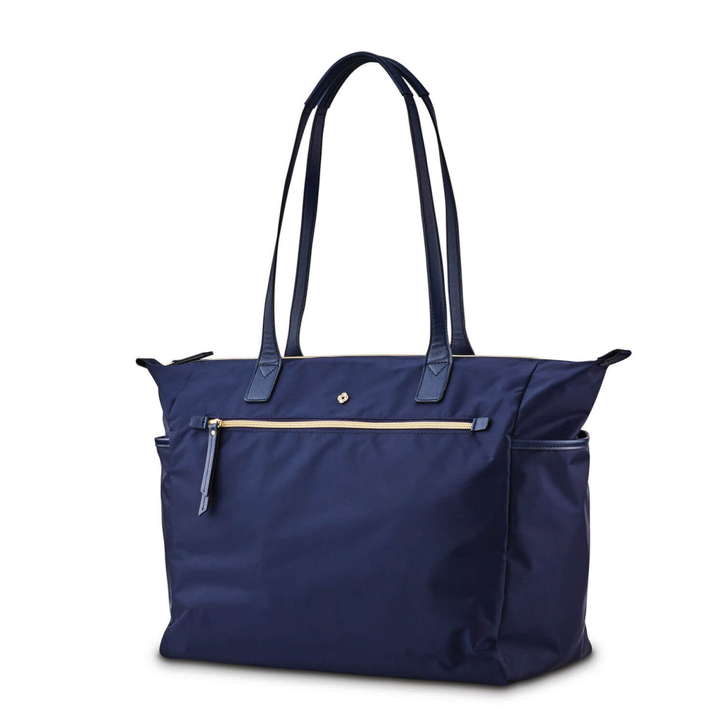 "Samsonite Mobile Solution Deluxe Carryall (15.6"") in colour Navy Blue - Forero's Bags and Luggage Vancouver Richmond"