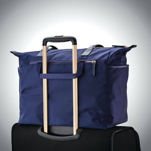 "Samsonite Mobile Solution Deluxe Carryall 15.6"" in Navy Blue rear view"