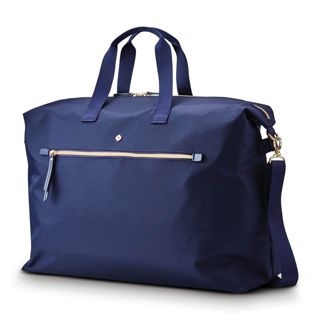 Samsonite Mobile Solution Classic Women's Duffle in colour Navy Blue - Forero's Bags and Luggage Vancouver Richmond