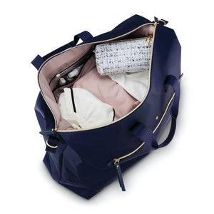 Samsonite Mobile Solution Classic Women's Duffle in Navy Blue inside view