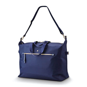 Samsonite Mobile Solution Classic Women's Duffle in Navy Blue shoulder strap