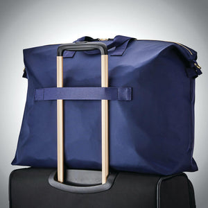 Samsonite Mobile Solution Classic Women's Duffle in Navy Blue rear view