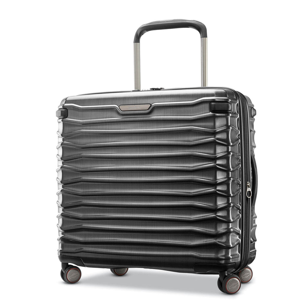 Samsonite Luggage Stryde medium brushed graphite Forero's Bags and Luggage Vancouver Richmond