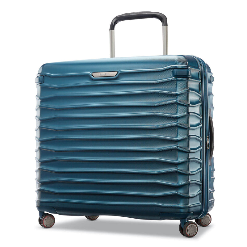 Samsonite Stryde 2 Large Expandable Glider in Deep Teal front view
