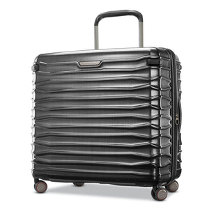 Samsonite Stryde 2 Large Expandable Glider in Brushed Graphite front view